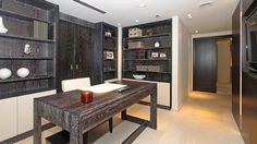 Condo Apartment in Miami – Wooden table by Roncoroni Moretti