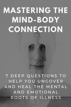Mind Body Medicine: How to Uncover the Hidden Mental-Emotional Roots of Illness Mind-Body Connection: Research into the mind-body connection has shown that your mind and emotions control your health just as much as what you eat, perhaps e Narcissist Quotes, Feeling Numb, Health Heal, Mental Health, Health Care, Mind Tricks, Mind Body Soul, Mind Over Body, Tips