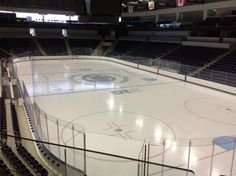 Twitter / wmoodycdt: View from Pegula Ice Arena ...