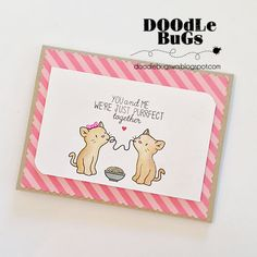 Doodlebugs: Mama Elephant- Purrfect Pair