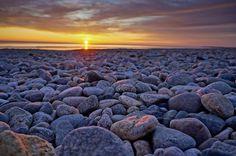 Duxbury Beach at Sunrise.