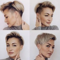Do women have pixie cuts for Sure! The short pixie hairstyle is still in fashion and is the perfect way to distinguish yourself from others. Girls Short Haircuts, Cool Short Hairstyles, Short Hair Styles Easy, Short Hair Cuts For Women, Pixie Hairstyles, Curly Hair Styles, Short Human Hair Wigs, Hairstyle Braid, Hairstyle Ideas
