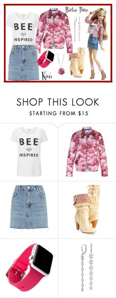 """""""Barbie Three"""" by kimmie-plus2 on Polyvore featuring Marco de Vincenzo, Topshop and Blue Nile"""