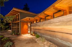 Image result for rammed earth homes