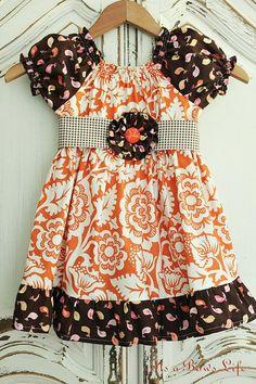 new fall peasant dress