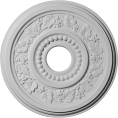 Ekena Millwork CM16GN 16 1/8-Inch OD x 3 1/2-Inch ID x 7/8-Inch Genevieve Ceiling Medallion *** Find out more details by clicking the image : home diy improvement