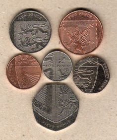 The Brits are very clever when it comes to designing their coinage