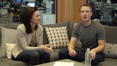 Mark Zuckerberg gave new insights about how he sees Facebook's role in informing the world today during a Live video one-on-one year-end chat with COO Sheryl..