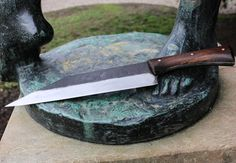 ELVAR Forged Viking Seax Knife Chopping by WulflundJewelry on Etsy