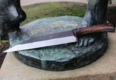 ELVAR Forged Viking Seax Knife Chopping by WulflundJewelry on Etsy
