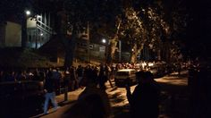 After the train accident in Spain, this was the line at 2 a.m. to donate blood in Santiago de Compostela. From Imgur.