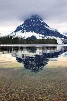 Mt Rockwell, Two Medicine Lake, Glacier National Park, Montana | USA byLee Parks