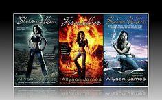 Allyson James - Stormwalker series