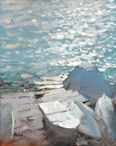 Por amor al arte: Bato Dugarzhapov Paintings I Love, Seascape Paintings, Landscape Paintings, Pics Art, Russian Art, Abstract Landscape, Love Art, Painting Inspiration, Contemporary Art