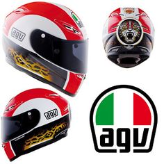 AGV GP-Tech Marco Simoncelli Replica