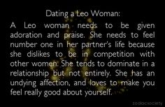 dating a leo woman