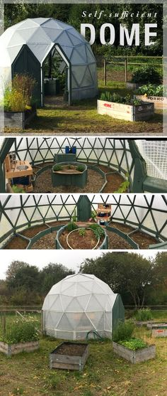 This Instructable is for the process of building my self-sufficient greenhouse dome, meant to inspire and encourage others to build one of their own.
