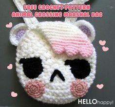 Free Crochet Pattern: Animal Crossing Marshal Amigurumi Bag  http://hellohappylisa.tumblr.com/post/73852635397/free-crochet-pattern-animal-crossing-marshal-bag