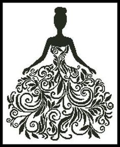 Artecy Woman Silhouette More Information Four Tulips Coloring Page