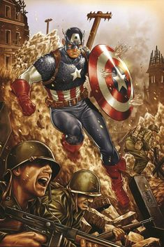 CPT. America takin charge!