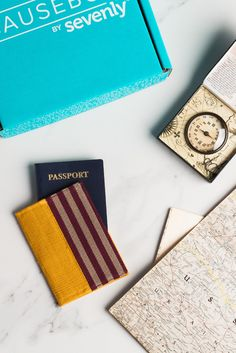 It matters how it was made. A woman hand-loomed the fabric for a beautiful passport holder that is durable, distinct and ready for the road. Get this product from The Root Collective and 5 other world changing products in CAUSEBOX » http://causebox.com