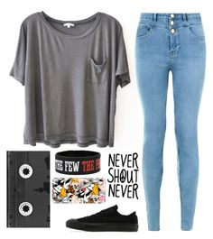"""Untitled #1162"" by chill-outfits ❤ liked on Polyvore featuring Clu, New Look, Converse, Luckies and Casetify"