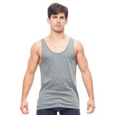 men's tank top, organic cotton
