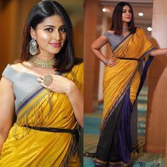 Looking for blouse designs photos? Here are our picks of 30 trending saree blouse models that will blow your mind. Saree Jacket Designs, Sari Blouse Designs, Dress Designs, Saree Blouse Models, Saree Dress, Sari Bluse, Saree Jackets, Dress Jackets, Stylish Blouse Design