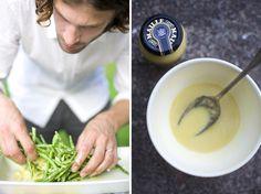 Green Bean Salad with Lemon Dijon Dressing by greenkitchenstories #Salad #Green_Bean #Dijon #Lemon #Healthy