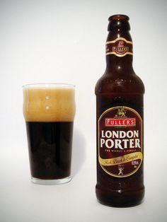 -Fuller Smith & Turner - Fuller's London porter 5,0% also 5,4% hana/pullo
