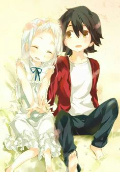 Jintan and Menma ~Anohana: The Flower We Saw That Day