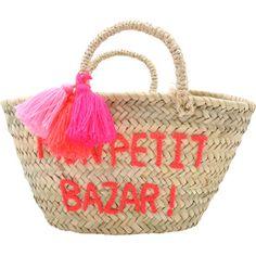 Panier Pompon Mon petit bazar