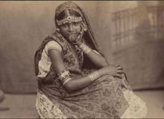 An Indian indentured woman in Trinidad, circa 1890