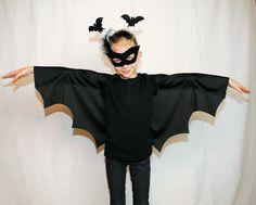 Fledermaus kostüm - kostenlose Nähanleitung