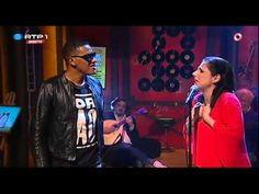 """KÁTIA GUERREIRO e ANSELMO RALPH """"Não Me Toca"""" - Nilton - 5 Para a Meia Noite - YouTube"""