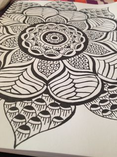 Mandala: I like this one for a tattoo idea too.