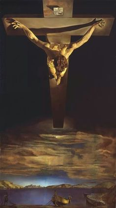 "Salvador Dali ""Christ of Saint John of the Cross (1951)"