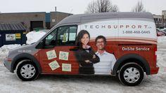 Ottawa Van Wrap - Tech Support Ford Transit