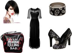 gothic............ i was so bored,, created by mckenzie-janke on Polyvore