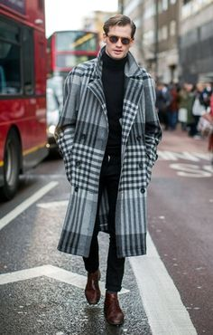I'm a woman, but I would wear this coat.  It's fabulous….