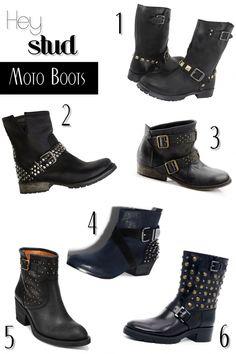 Hey Stud - Moto Boots