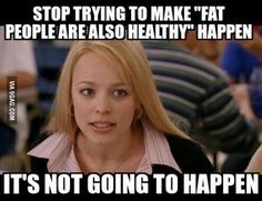 It may not always be but there are situations and just because you're skinny it doesn't mean you're healthy