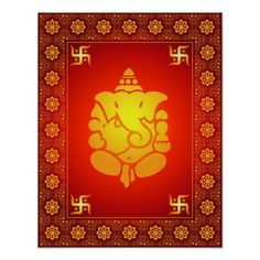 Decorative Lord Ganesha Posters