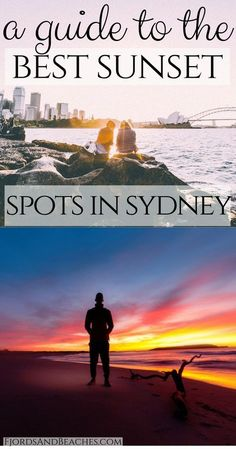 A Guide to the Best Sunset Spots in Sydney. Where to watch the sunset in Sydney, Australia.