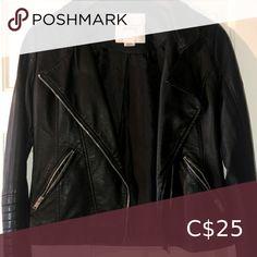 "Check out this listing I just found on Poshmark: ""Leather"" jacket. #shopmycloset #poshmark #shopping #style #pinitforlater #Streetwear Society #Jackets & Blazers Plus Fashion, Fashion Tips, Fashion Trends, Streetwear, Blazers, Casual Shorts, Leather Jacket, Check, Jackets"