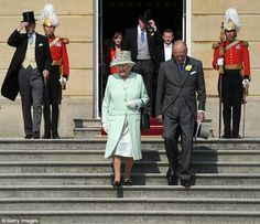 Mail Online: Queen Elizabeth II and Prince Philip attended a garden party earlier today at the Palace before the prince was admitted to hospital