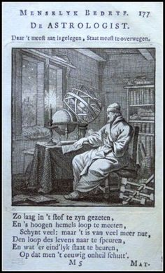 De Astrologist | Graphic         : Copper engraving From             :  Spiegel van het Menselyk Bedryf Size Picture  :  10 x 15 cm   Year              :  + 1767 Sculp & Del.  : Jan en Kasper Luiken Uitgev.          :  by Erven van F.Houttuyn te Amsterdam, 1767 Originele Kopergravures der Beroepen. | eBay