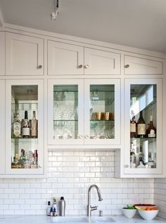 custom kitchen cabinets slanted ceiling - Google Search