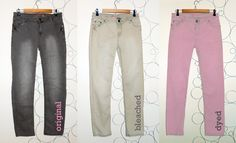 DIY color jeans