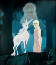 The Last Unicorn by ~MonicaHooda on deviantART